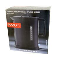 Bodum IBIS Cordless Electric 57-Ounce 1.7L Water Kettle Black New