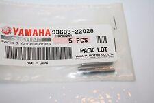 3 NOS Yamaha snowmobile oil pump worm gear pin ex440 gpx et250 et340 93603-22028