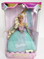 Disney Mattel 1995 Barbie Holiday Collector Series Rapunzel Princess Tangled New