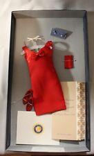 The Franklin Mint- Diana, People's Princess Red Dress & Bow Ensemble Coa