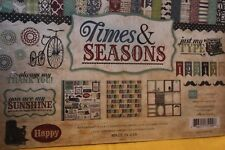 "Echo Park ""Times and Seasons"" 12X12  Collection Kit"