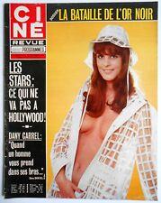 ►CINE REVUE 47/1973-STEPHANIE POWERS- SEAN CONNERY-DANY CARREL- MARY PICKFORD...