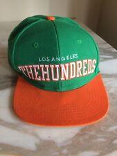 The Hundreds Los Angeles Hat Snapback Green Orange