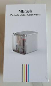 Kongten MBrush Handheld Drucker Mini Tintenstrahldrucker Farb-Barcode-Drucker...