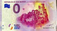 BILLET 0  EURO  REPUBLICA DI SAN MARINO   2017  NUMERO PALINDROME 3223