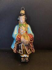 Kurt Adler Polonaise Komozja Glass Ornament Cinderella Prince Charming