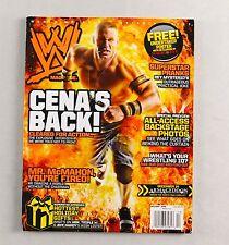 John Cena Holiday 208 Undertaker Poster Wrestling Magazine Raw WWE WWF