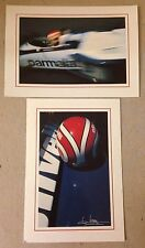 Nelson Piquet Brabham  2 Post Card Set 1st On eBay Car Poster. Own It!