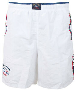 Paul & Shark Yachting Men's Swimming Trunks Bermuda Shorts Size 3XL White