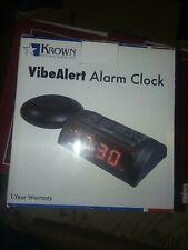 Krown VibeAlert Alarm Clock w-Bed Shaker