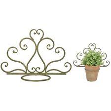 CASSETTA per fiori supporto metallo cassetta da balcone Supporto Cassetta da balcone vers anice 34a 4 pezzi