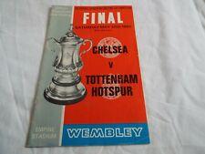 More details for wembley stadium final programme-chelsea v tottenham hotspur 20/05/1967
