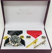 MEN Gift Set For HIM WATCH GIFT SET THREE 2 TAI valentine Birthday Sets UK POST