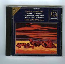 CD FREDERIK VAN ROSSUM BALLADE PRELUDES WAVES FREDERIC MENGUY