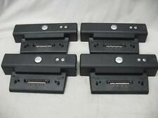 LOT of (4) Dell PR01X Dock Docking Station Laptop Notebook Use w/ Adapter PA-10