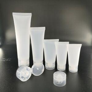 Tube  Flasche leer unterwegs Reisen Creme Salben klarmatt Klappe 30,50,100 ml