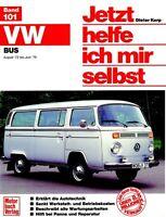 VW BUS Transporter T2 Bulli Reparaturanleitung Jetzt helfe ich mir selbst Buch