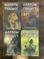 Graphic Novel Lot Harrow County Library Edition Vol 1 2 3 4 Hardcover TPB Comics