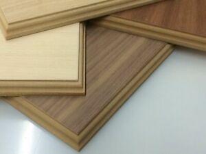 Hard wood Veneer display, model, trophy bases and plinths Many sizes