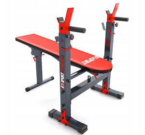 Folding Bench Adjustable Stands Slope Lower Upper Training and Healthy Life!
