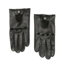 NWT Nordstrom Men/'s Leather Robson TT Commuter Gloves in Black in Size L//XL