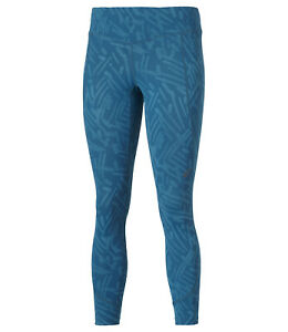 Asics Women's Running Tights Graphic 7/8 Tights - Mosaic Blue - New