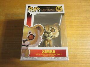"Simba Disney The Lion King Funko POP! 3"" Vinyl Figure New in Box"
