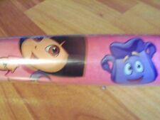 """One Roll 40 sq ft 30"""" Dora the Explorer Gift Wrap Wrapping Paper USA"""