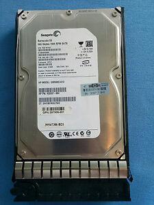 "HP SEAGATE OEM BARRACUDA ES 500GB 3.5"" SATA HDD PART: 395501-002 7200RPM TESTED"