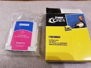 France Toner FTHC4908AE Magenta Cartouche d'Encre HR4908 HP OfficeJet Pro 8000