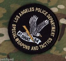 LOS ANGELES POLICE AUTHENTIC LAPD ⭐(SWAT) SHOULDER SLEEVE INSIGNIA νeΙ©®😎SSI