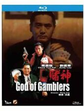 """Chow Yun Fa """"God of Gamblers"""" Andy Lau HK Version Action Region All NEW Blu-Ray"""