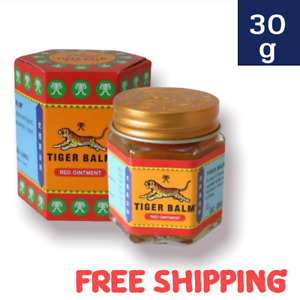 30g TIGER BALM RED OINTMENT FOR MUSCLE PAIN ACHES THAI HERBAL RELIEF MASSAGE RUB