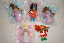 Lot Of 5 Cabbage Patch Kids McDonald's Happy Meal Toys Figures 1994 NIP