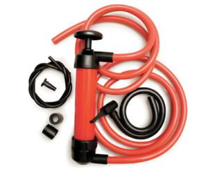 "Lincoln Fluid Quick Mini Transfer Pump, Polyethylene, 3/8"" Inlet Siphon Air Pump"