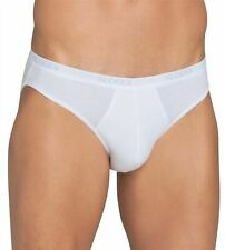 2 Pack Size XS  Sloggi Mens Classic Natural Cotton Mini Briefs White