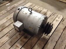 Baldor M3710T 7.5 HP 208-230/460 VAC 1760 RPM 213T 3 Phase Motor (OK)