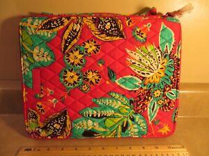 Vera Bradley's TABLET TAMER ORGANIZER Floral Pattern Rumba NEW