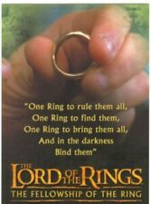 LORD OF THE RINGS FELLOWSHIP OF THE RING  PREVIEW /PROMO SET L1 TO L20