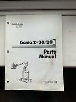 Genie Z-30/20 Parts Manual