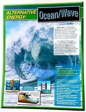 Alternative Energy Ocean and Waves Educational Classroom Poster Science Teachers