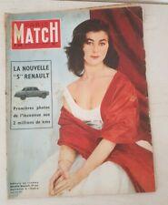 """Paris-Match numéro 355 du 28 janvier 1956 la nouvelle """"5""""  Renault. M.Granelli"""