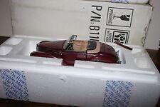 FRANKLIN MINT1957 MERCEDES BENZ 300SC ROADSTER CONV. IN BOX W/COA & PAPERWORK