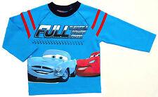 NEU!! Disney Cars Langarmshirt LongsleeveT-Shirt Shirt Baumwolle aqua 80 86 92