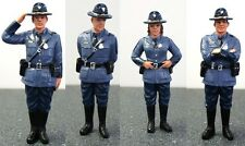 American Diorama 1/18 State Trooper Police Figure Set of 4