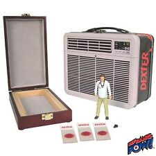 DEXTER ACTION FIGURE WITH BLOOD SLIDE KIT IN AIR CONDITIONER BOX GIFT SET