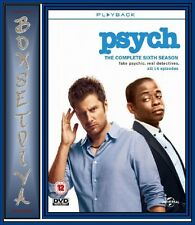 PSYCH - COMPLETE SERIES SEASON 6  **BRAND NEW DVD**