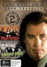 Pulp Fiction / Swordfish (DVD, 2008, 2-Disc Set)*R4*Excellent Condition*