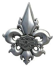 Harley Davidson Pin Fleur De Lis B&S HARLEY PIN