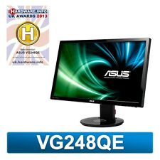 ASUS VG248QE 24 inch LED 3D 144Hz 1ms Gaming Monitor - Full HD, 1ms, Speakers